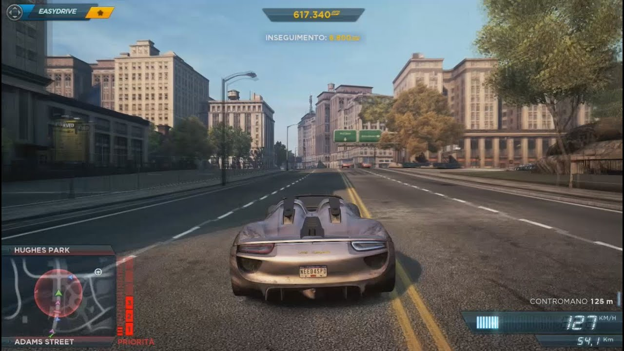 nfs most wanted gameplay hd ita porsche 918 spyder youtube. Black Bedroom Furniture Sets. Home Design Ideas