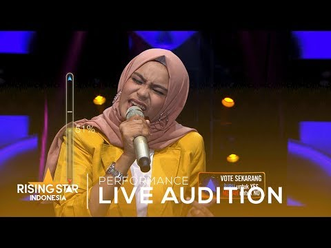 Waode Hasriani 'Run To You' | Live Audition 4 | Rising Star Indonesia 2019