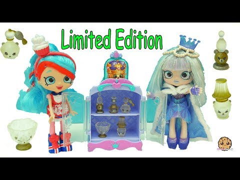 Limited Edition  Shopkins Happy Places Petkins Surprise Blind Bags with Shoppies Doll Gemma Stone