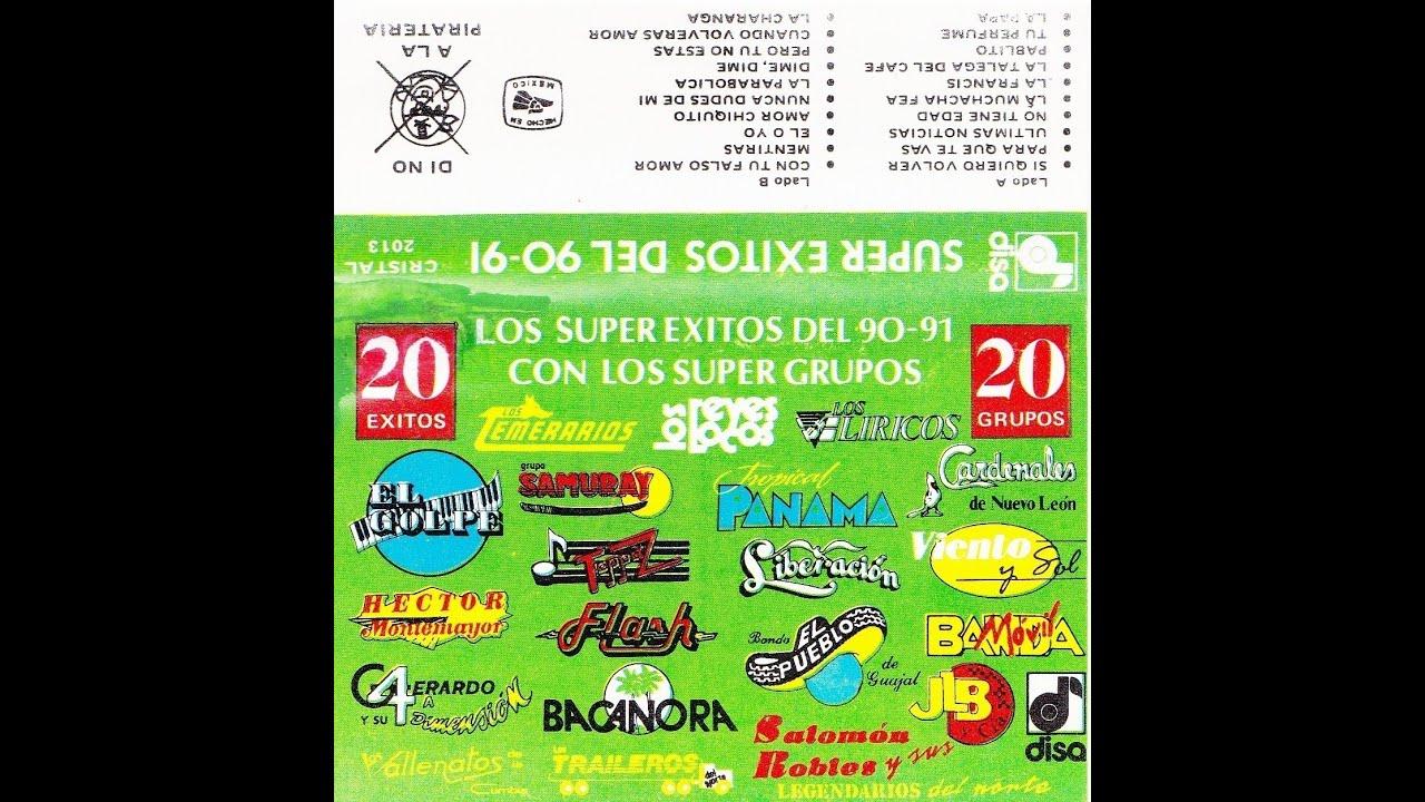 Los Super Exitos Del 90   Varios Grupos  Album
