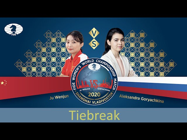 FIDE Women's World Championship Match 2020. Tiebreak