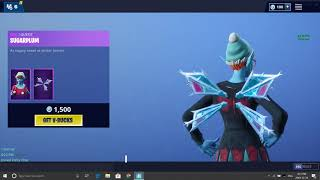 my opinion on the new skin in fortnite (sugarplum)