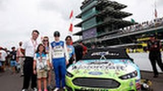 Kansas girl battling diabetes wins trip to Crown Royal Brickyard 400