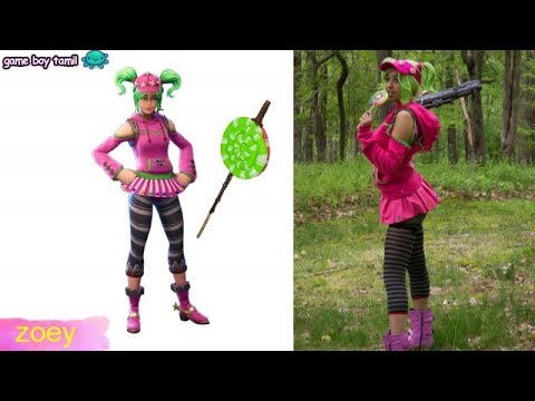 Fortnite Skins Real Life Version!
