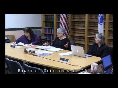 Board of Selectmen 01.14.19