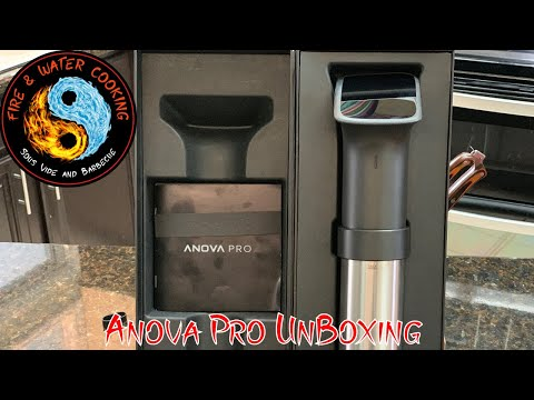 Anova Pro 1200 Watt Sous Vide Circulator UnBoxing and 1st look