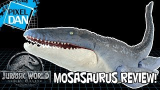 Jurassic World Mosasaurus Fallen Kingdom Dinosaur Figure Mattel Video Review