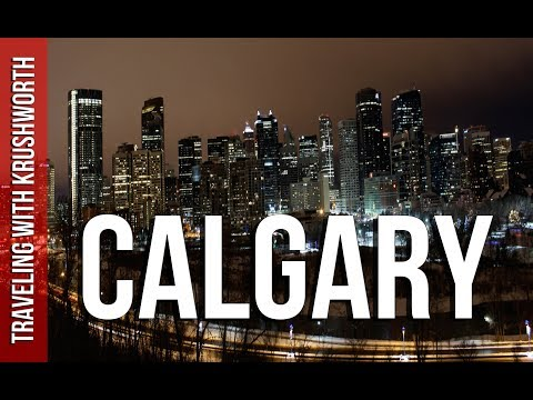 Visit Calgary Alberta Canada tourism/tour guide video (HD) | Travel Vlog