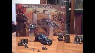 Gears Of War Battle Erector Set Unboxing/review Part 2