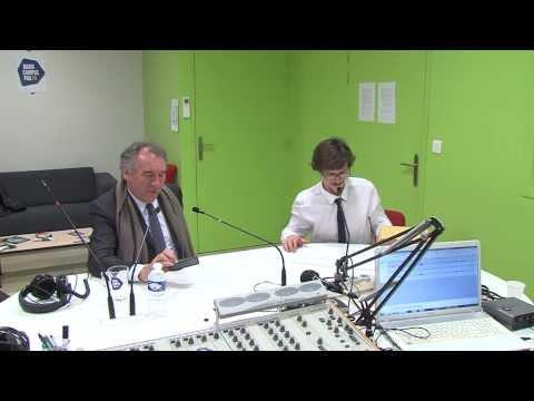 Radio Campus Pau - Interview François Bayrou