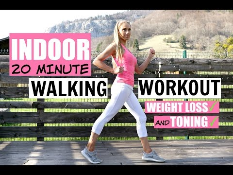 WALK AT HOME WORKOUT -20 minute fun routine to help you lose weight and tone up-low impact exercises