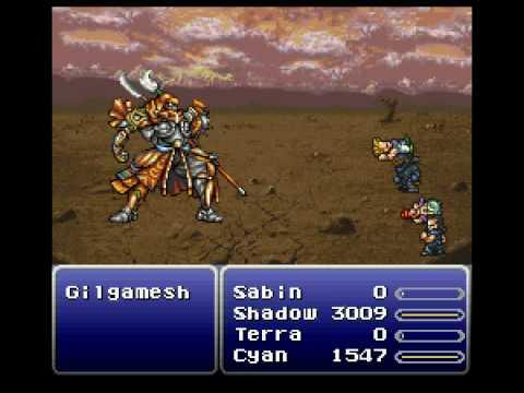 FF6 Master Swordsman: Gilgamesh