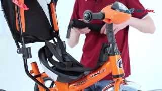 Сборка трехколесного велосипеда FAMILY TRIKE из коробки