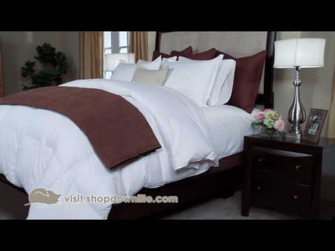 How To Get The Hotel Bed Look At Home - DOWNLITE