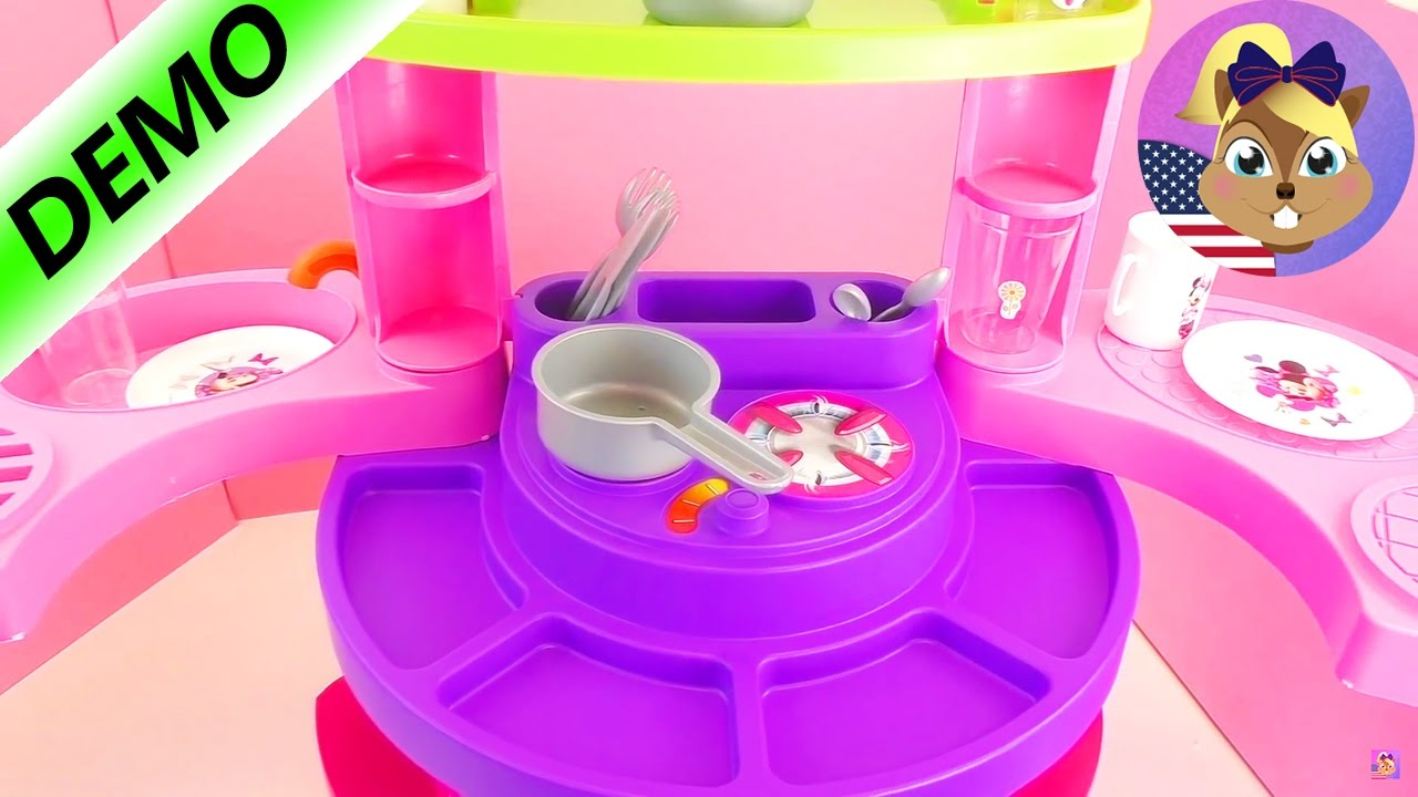 Cute Kitchen With Minnie Mouse Let S Cook Together Minnie Mouse