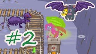 ПИНКИ ПАЙ В ИГРЕ Draw a stickman EPIC 2 #2. Нарисовать стикмена из My little pony. Игра как мультик.