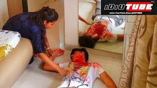 Murder Mystery Prank (Gone Wrong) - iDiOTUBE (Pranks In India)