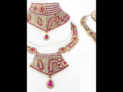 Wholesale bridal jewelry products manufacturer from India; Wedding Jewellery