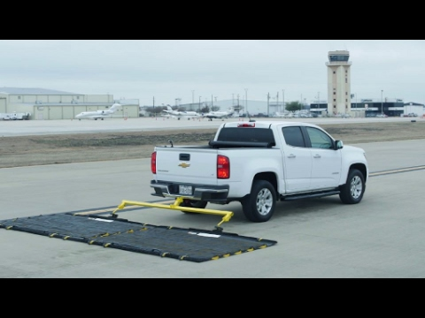 The FOD-Razor™ Airport Runway Sweeper