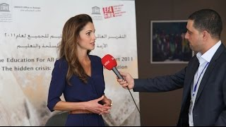 Queen Rania on Education in the Arab World