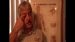 Dr. Mark Lynch demonstrating sinus/throat lymphatic drainage massage thumbnail