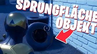 Hüpfe in verschiedenen Matches auf Objekten mit Sprungfläche | Fortnite Mission 8-Ball Deutsch NEU
