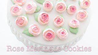 ROSE MERINGUE COOKIE RECIPE - Mother