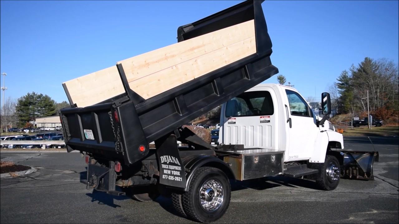 All Chevy chevy c4500 : 2005 Chevy C4500 Duramax Diesel Dump - YouTube