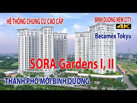 SORA Gardens - Cụm các chung cư cao cấp II Thành phố mới Bình Dương