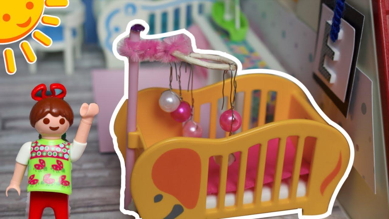 playmobil baby kinderzimmer f r zwillinge pimp my playmobil familie sonnenschein kids diys