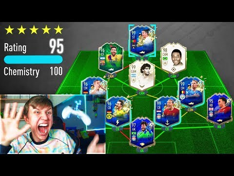 195 RATED!! - WORLDS FIRST 195 FUT DRAFT!! (FIFA 20)
