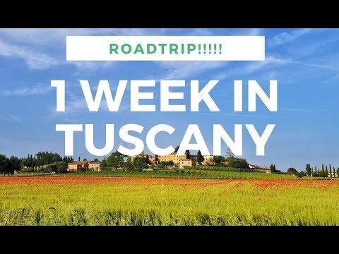 1 Week Roadtrip Through Tuscany