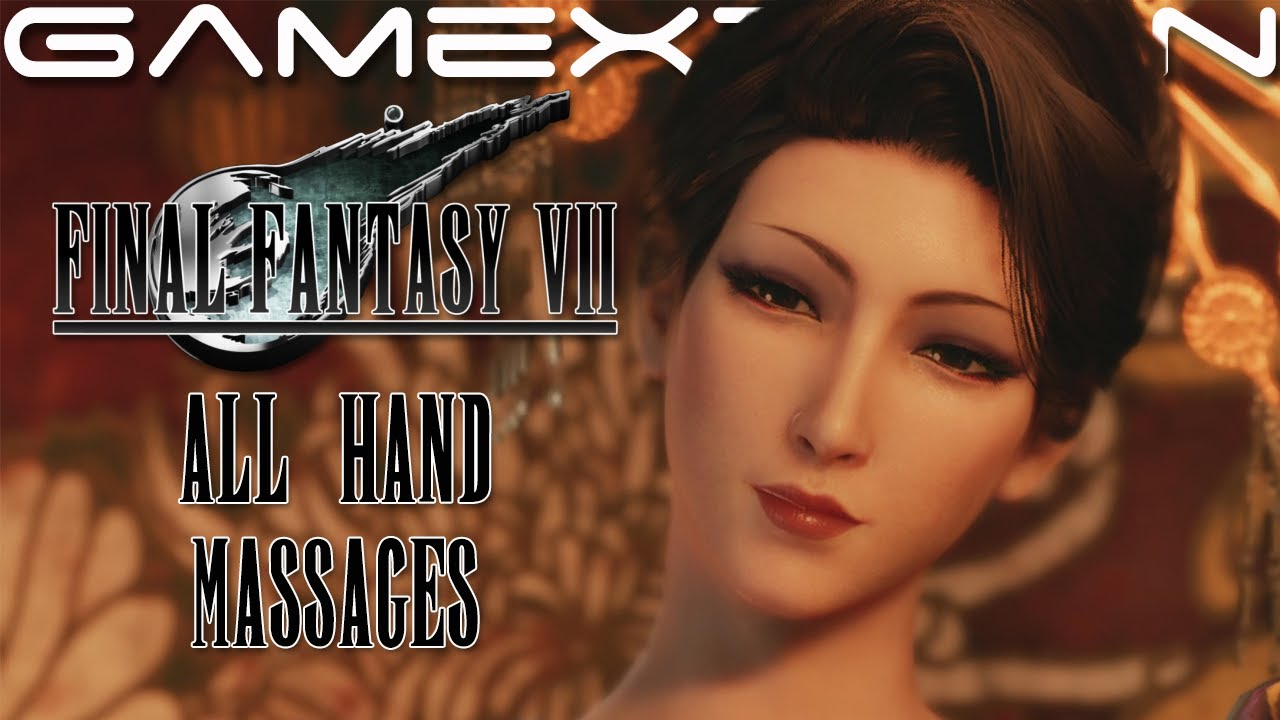 Download Final Fantasy 7 Remake - All Hand Massages