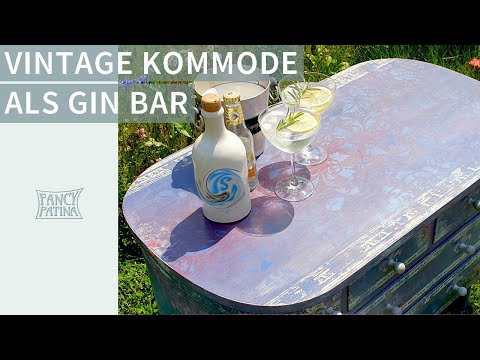 lila-vintage-kommode-|-sunset-gin-bar---happy-feierabend!