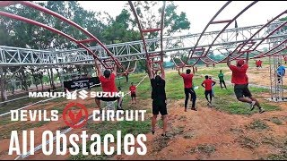 DEVILS CIRCUIT 2018 - Bangalore (All Obstacles)