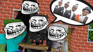 Monster School: COFFIN DANCE FUNNY CHALLENGE - Minecraft Animation