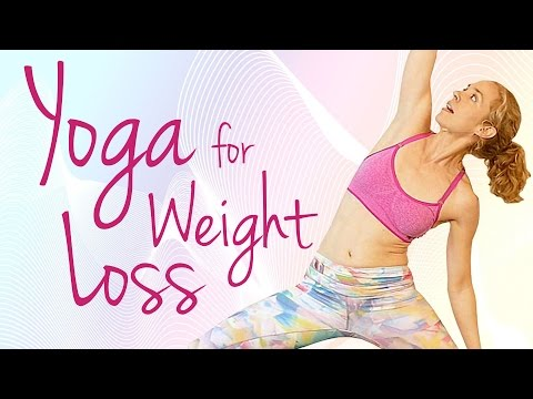 Yoga for Weight Loss, 20 Minute Workout Routine for Beginners with Lindsey Samper