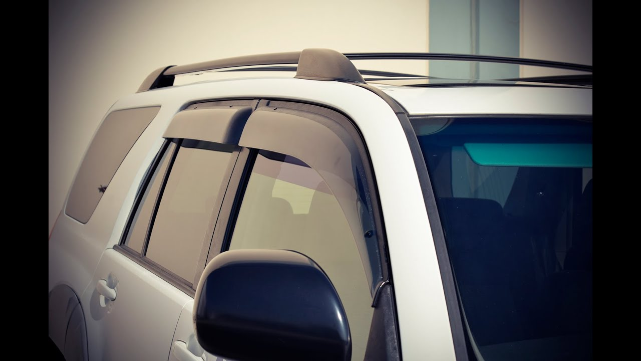 Wellvisors Side Window Deflector Vent Visor Installation