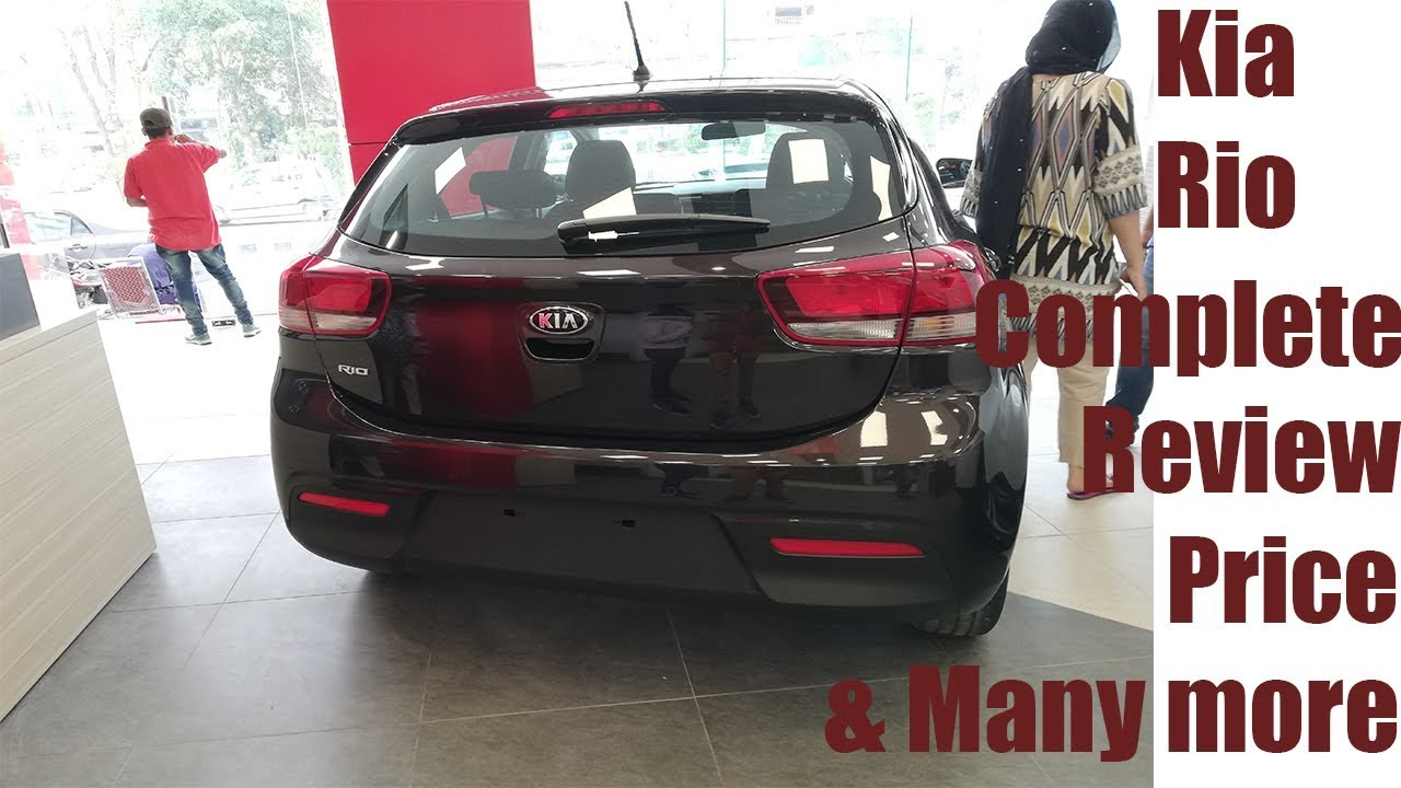 Kia Rio Complete Review Startup Pakistan Youtube