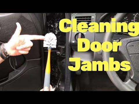 Auto Detailing Tricks: Cleaning Door Jams