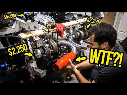 Installing A Stupid Cheap Muffler On A 1,000 HP Lamborghini (Is Actually A HORRIBLE Idea)
