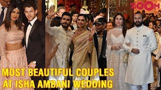 Best looking couples & guests at Isha Ambani - Anand Piramal's Grand Wedding