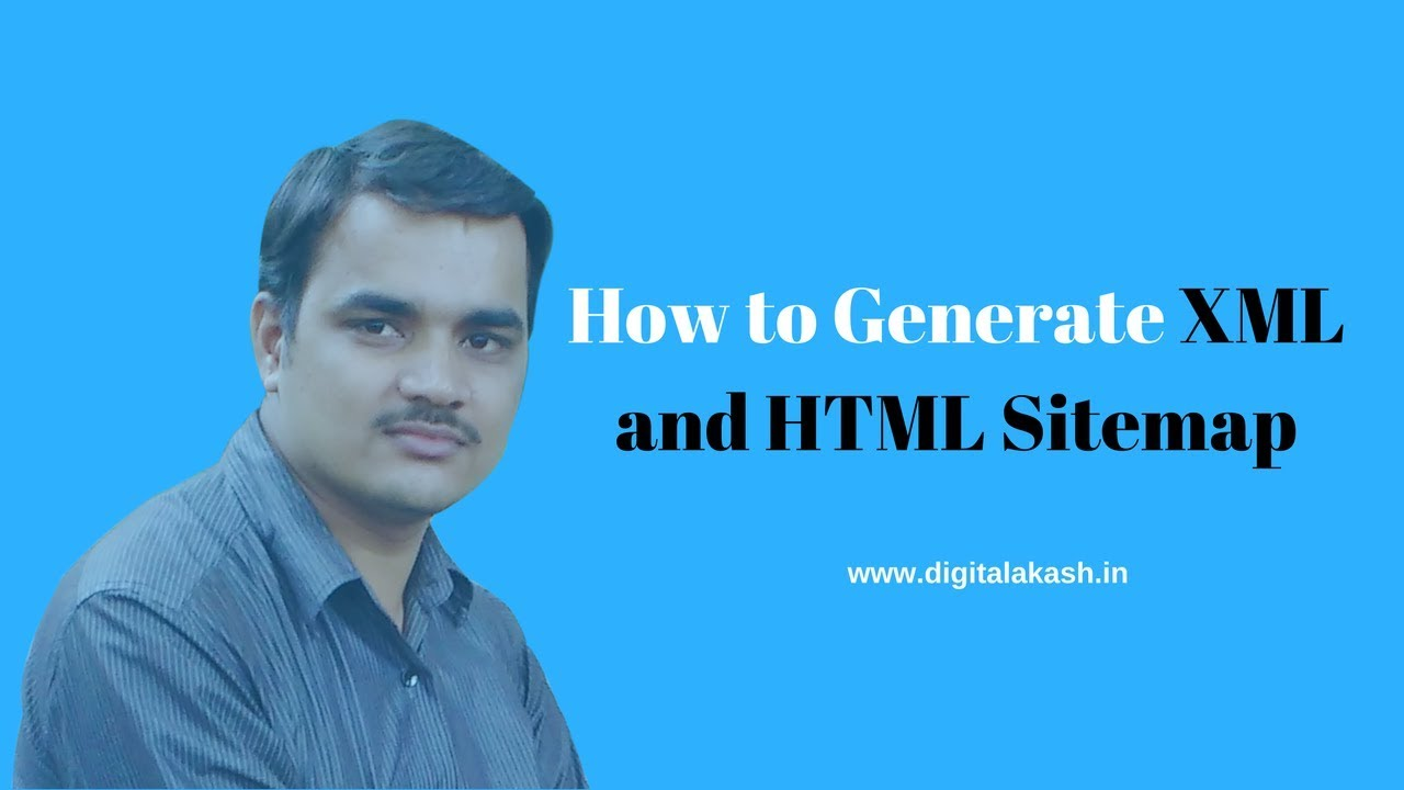 Download How to Generate XML and HTML Sitemap