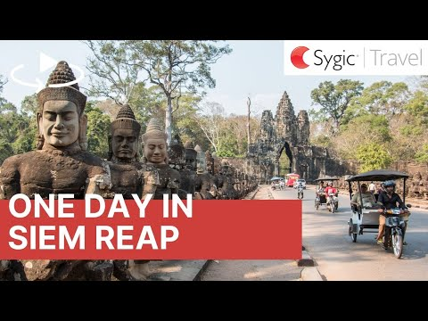 One day in Temples of Angkor Complex 360° Travel Guide with Voice Over