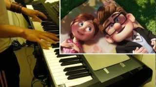 Carl and Ellie- Pixar's Up Theme (Piano cover)