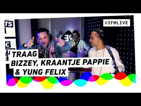 Bizzey & Kraantje Pappie - Traag | 3FM Live