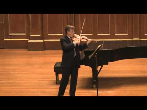 James Buswell plays Bach's Cello Suite No. 5 in C Minor for viola