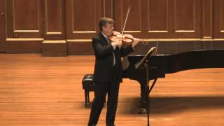 James Buswell plays Bach