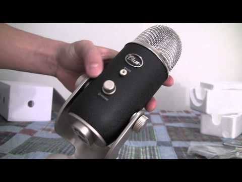 Blue Yeti Pro Microphone Unboxing and Test