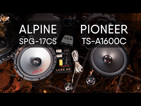 Alpine SPG-17CS Vs Pioneer TS-A1600C